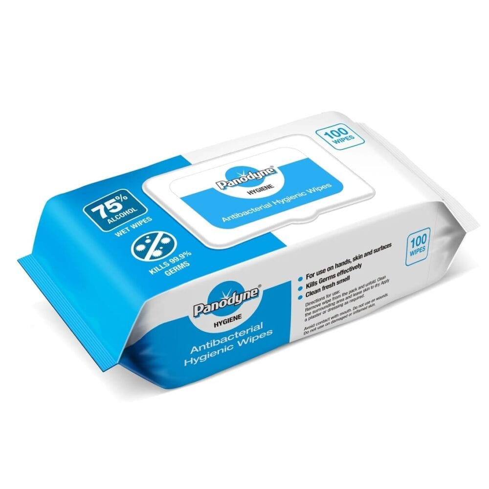 panodyne wipes 100 pk