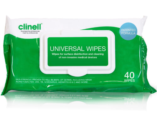 Universal Wipes pack of 40 Rapid Fire Supplies