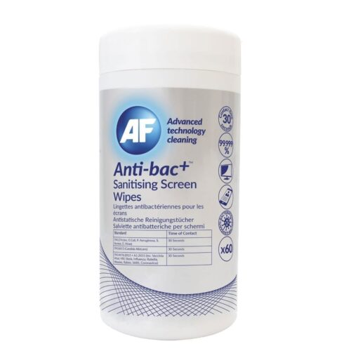 AF anti bac screen wipes