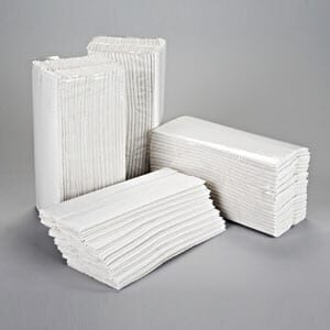 Essentials Hand Towel C Fold 2PLY White