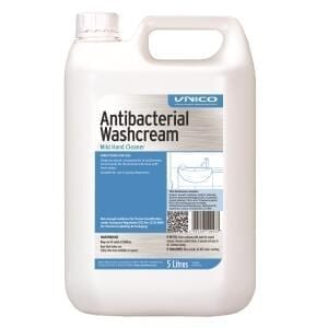 Unico Anti - Bacterial Washcream 5L