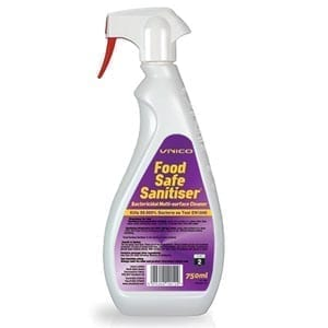 Unico Food Safe Sanitiser 750ml