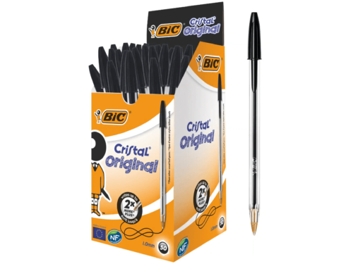 BiC Crystal Ball Point Pen Black