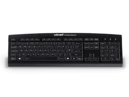 Easyclean True Type Keyboard Black