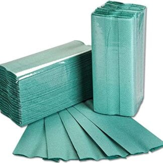 Essentials Hand Towel C Fold 1PLY Green