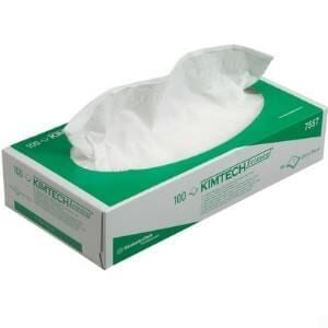 Mimtech Delicate Task Wipes 2PLY White Box of 100
