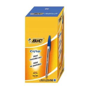 BiC Crystal Ball Point Pen Blue