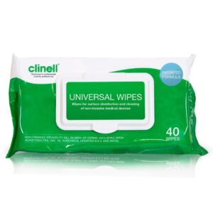 clinell wipes 40 pk