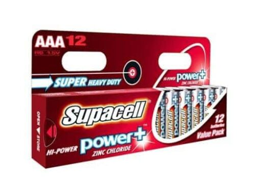 Supacell Power Plus AAA Batteries – 12 Packs