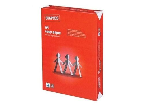 STAPLES COPY PAPER A4 80GSM