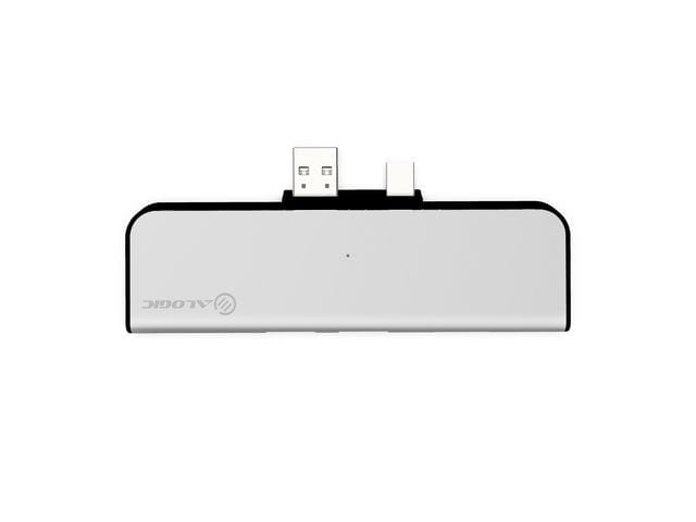ALOGIC Surface Pro Dock, Portable Docking Station Ultra Series, Silver