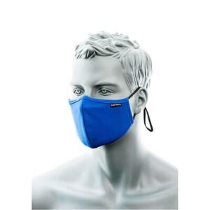 CV35 - 3-Ply Anti-Microbial Fabric Face Mask with Nose Band (Pk25)