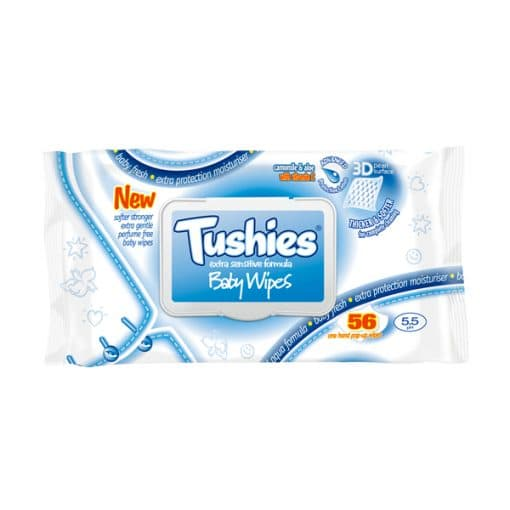 Tushies Sensitive with LID – 56s