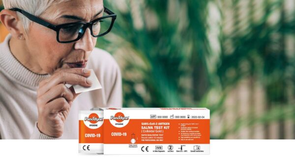 Saliva test kit perfect for those who have difficulty with Swab tests