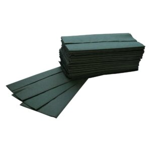 DEHP C-Fold Towel 1Ply Recycled Green 25x33cm 2880pcs 20 x 144pk