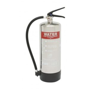 Stainless Steel and Polished Extinguishers