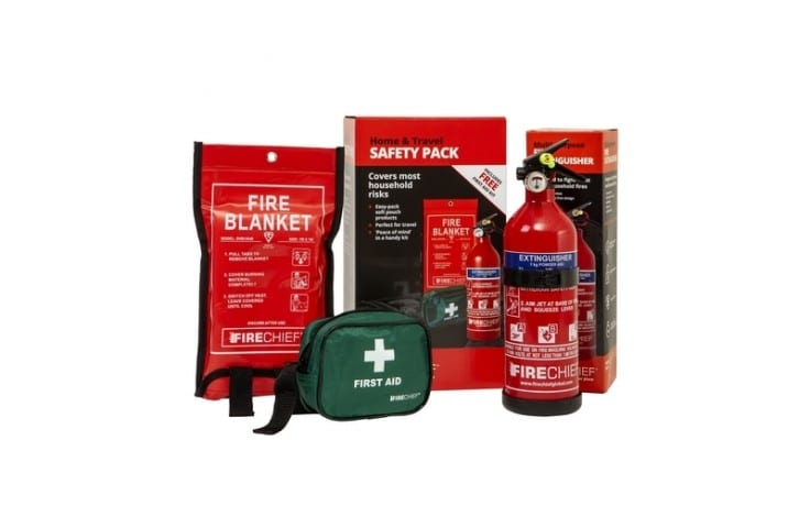 FIRECHIEF Home & Travel Safety pack