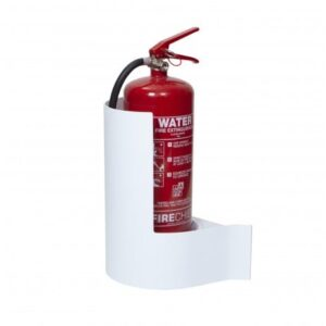 FIRECHIEF WALLMOUNTED EXTINGUISHER STAND - WHITE