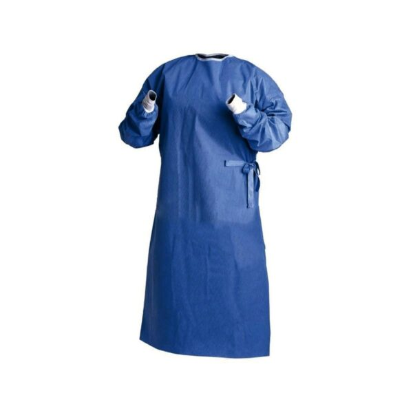 HS Surgical Gown Sterile Blue Extra Large