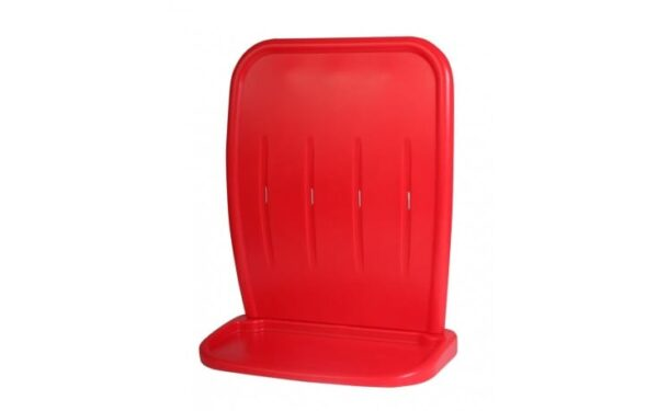 INJECTION MOULDED TWO PART DOUBLE STAND RED - DOUBLE