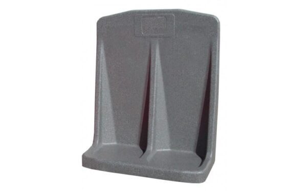 ROTATIONALLY MOULDED EXTINGUISHER STAND - DOUBLE (GREY)