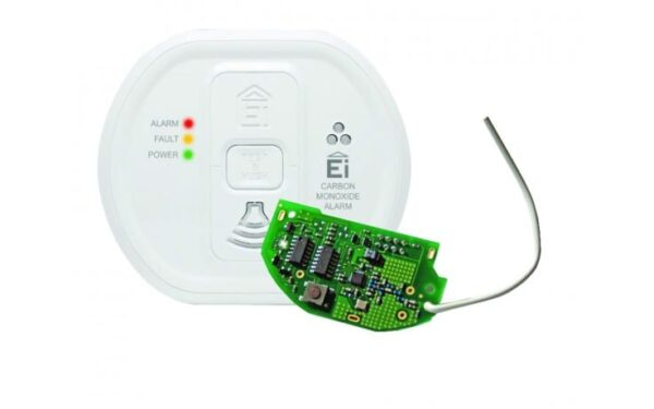 Radio Linked Battery-Operated Carbon Monoxide Alarm