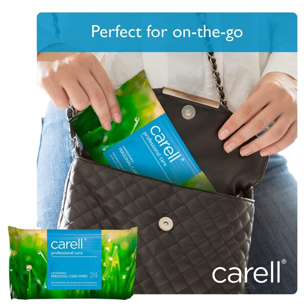 Carell Professional Care - Maceratable Personal Care Wipes