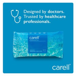 Carell Refreshing Patient Wipes - Pack of 10