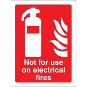 Fire Extinguisher Safety Signs