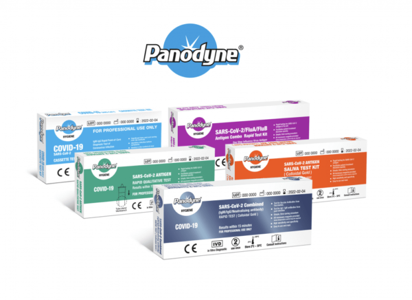 Panodyne Antigen Rapid Test Kit, find out Covid-19 test results in just 15 minutes, designed for workplace SARS-CoV-2 testing