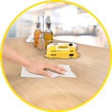 Multi-surface cleaning Can be used on both surfaces and equipment. Disposable wipes that are ideal for general cleaning and damp-dusting.