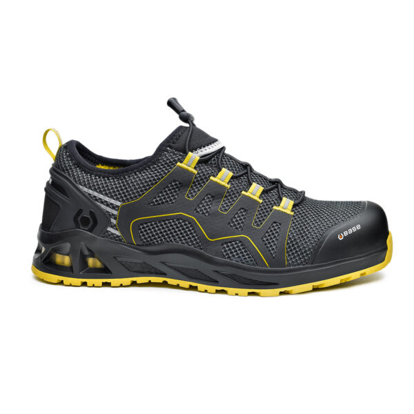 K-Balance/K-Walk Safety Anti-static footwear 200 joules resistant toe-cap Puncture resistant sole Shock absorption in the heel region Heat resistant 1 minute up to 300°C Hydrocarbons resistant Men's width Women's width Orthopaedic made to measure footbed, complying with european norms DGUV112-191 Materials Upper: Breathable Fabric Lining: SmellStop Antiodor and Antibacterial* Midsole: Fresh'n Flex Toecap: Aluminium Sole: Double-Density PU/HRO Rubber i-daptive® Technology Shoe