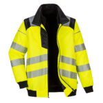 Picture and link to product page of  PW3 Hi-Vis 3-in-1 Pilot Jacket