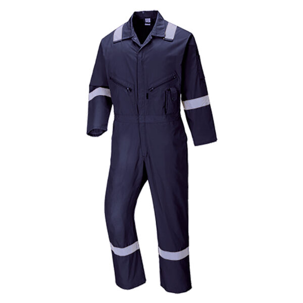 C814 - Iona Cotton Coverall Navy