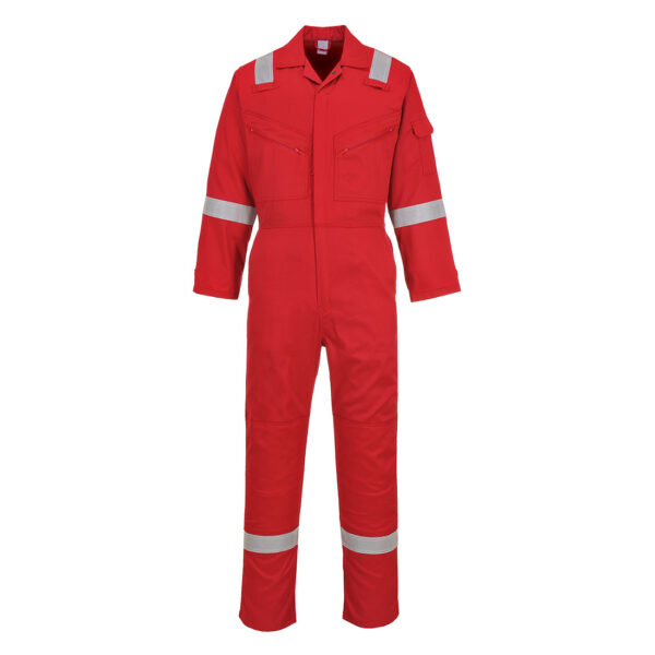 C814 - Iona Cotton Coverall Red