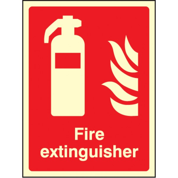 Fire Extinguisher Safety Sign