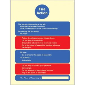 Fire Action Care Homes