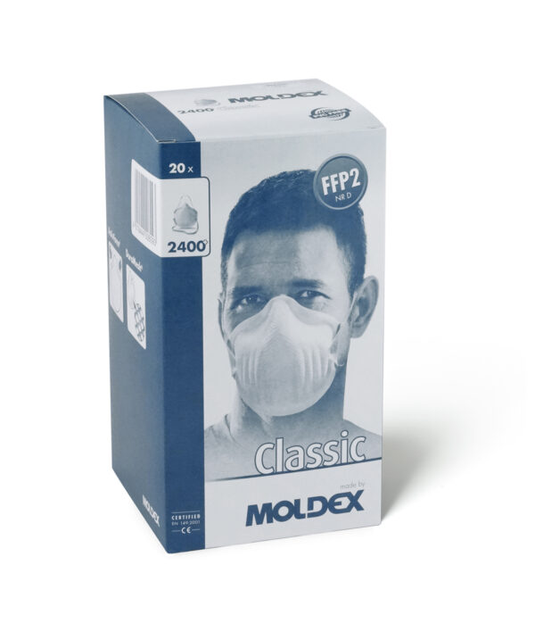 Classic shape durable FFP mask with loop-strap for easy application Moldex 240015