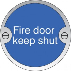 Fire Door Safety Sign
