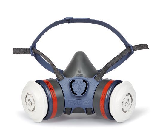 Picture of 7000 Series Reusable Half Mask Respirator with filters