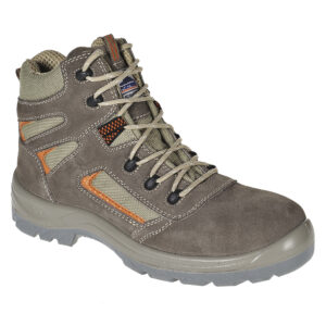 Compositelite Reno Safety Boot Compositelite Derwent Safety Boot is Stylish, modern design providing maximum comfort without compromising on safety. The eye-catching Reno mid cut boot has exceptional safety features. Lightweight and durable, this 100% non metallic boot is suitable in a host of environments. Breathable lining, composite toecap and midsole with an oil and slip resistant outsole.
