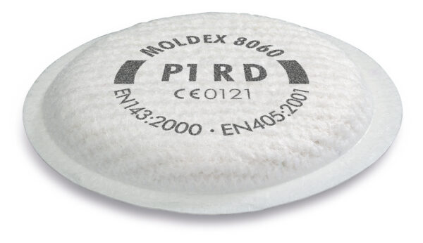 Moldex 8060 P1 particulate filters for the 5000 / 8000 Series
