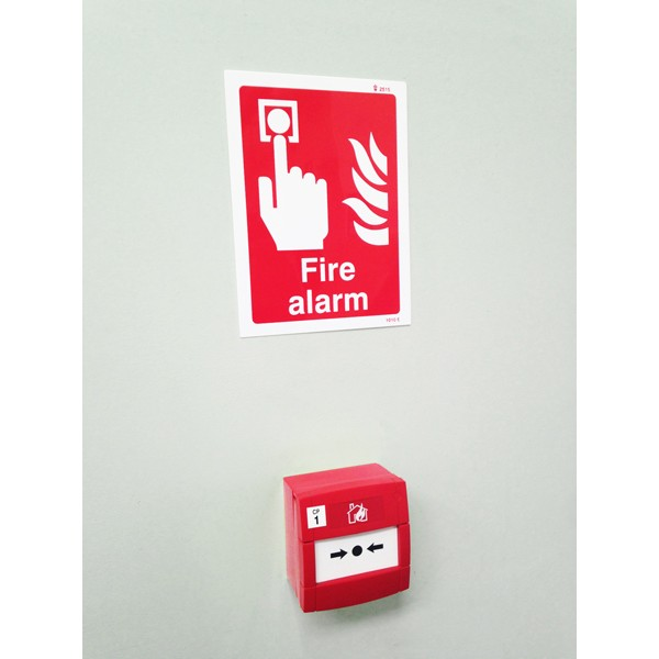 Image of a Fire Alarm Sign