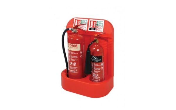 Image of a Rotationally Moulded Extinguisher Stand