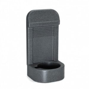 Image of a Rotationally Moulded Fire Extinguisher Stand Single (Grey)